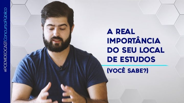A REAL importância do seu local de estudos (você sabe?) | Fernando Mesquita