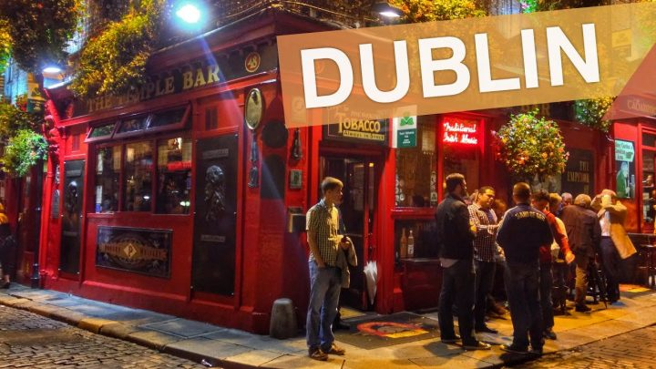 Dublin – Irlanda :: 3 pubs na Temple Bar em 3 minutos :: 3em3