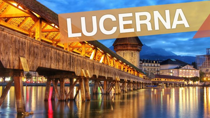 Lucerna – Suíça :: Ep.02 ::  3 pontos turísticos imperdíveis em 3 minutos :: 3em3