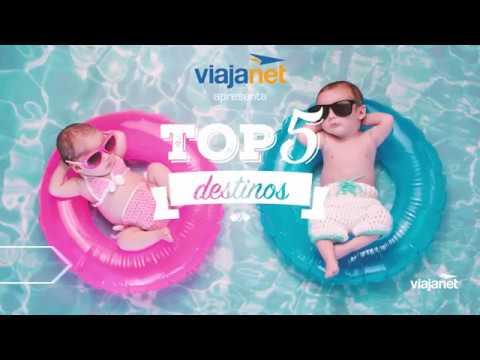 TOP 5 Destinos –  Viajar com Filhos