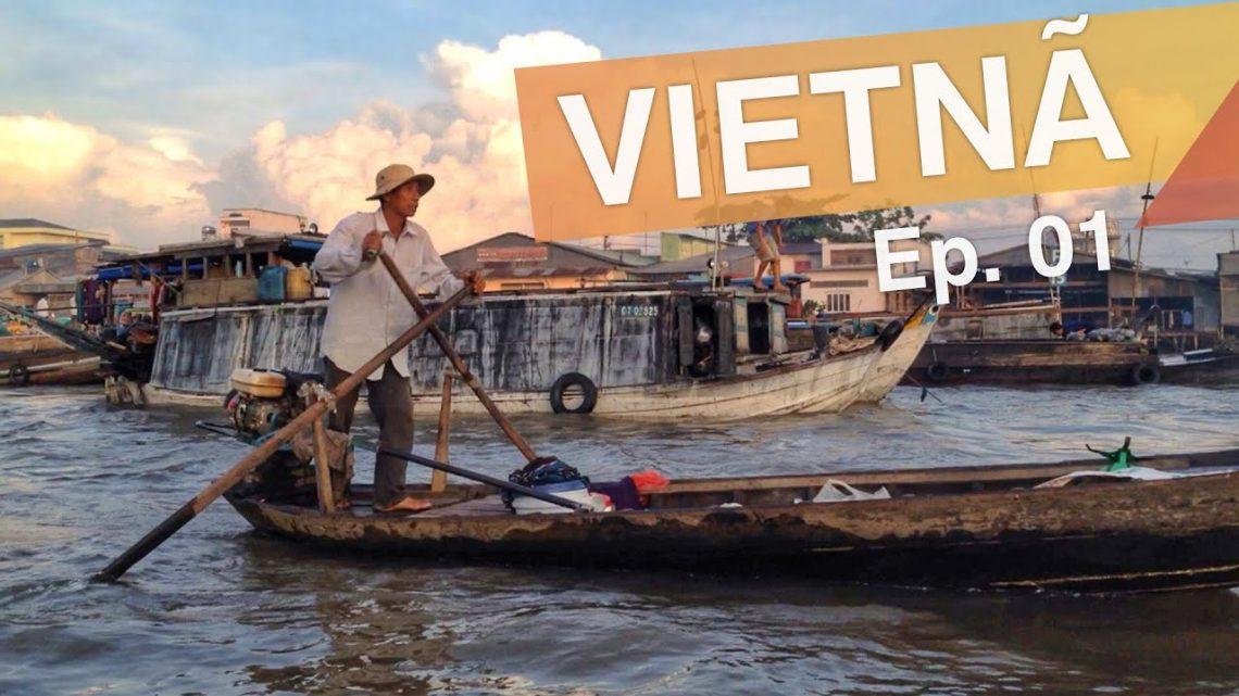Delta do Mekong – Vietnã :: Ep.01 :: 3 atrações do delta do Rio Mekong :: 3em3