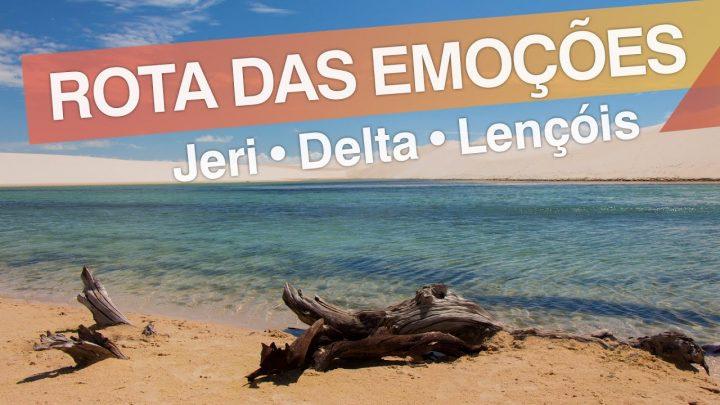 Rota das Emoções – Brasil :: Jericoacoara – Delta do Parnaíba – Lençóis Maranhenses :: 3em3