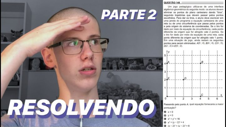 RESOLVENDO MATEMÁTICA DO ENEM 2018 – PARTE 2 | Lucas Felpi