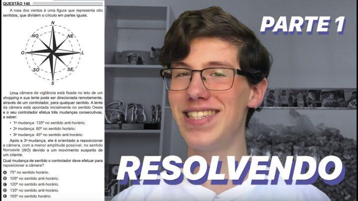RESOLVENDO MATEMÁTICA DO ENEM 2018 – PARTE 1 | Lucas Felpi