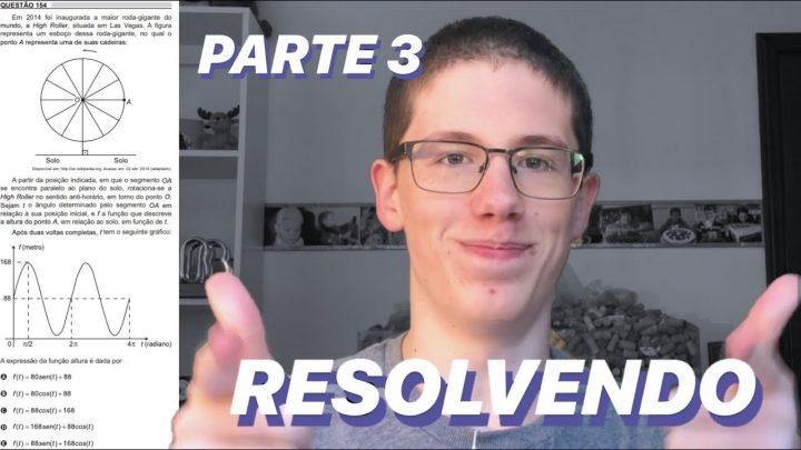 RESOLVENDO MATEMÁTICA DO ENEM 2018 – PARTE 3 | Lucas Felpi