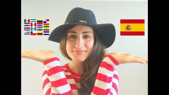 SPAIN SPANISH vs. LATIN AMERICAN SPANISH