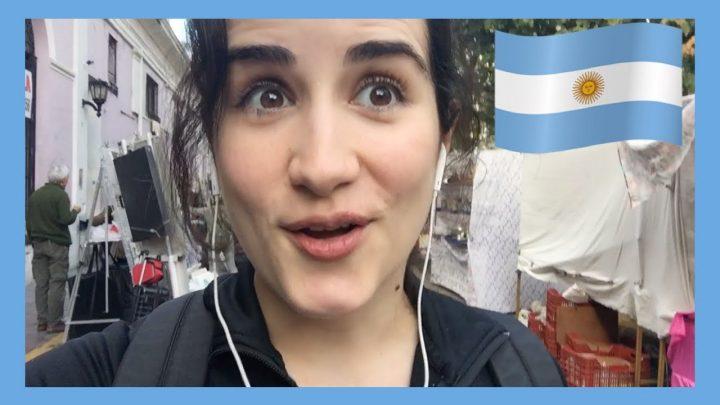 ¡Un domingo en BUENOS AIRES! | Vlog en Argentina 🇦🇷